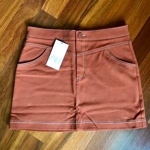 🍂NWT ZARA Denim Skirt (L)